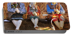 Portable Battery Charger featuring the photograph Childhood by Rodney Lee Williams