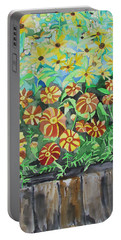 Childlike Flowers Portable Battery Charger