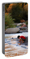 Portable Battery Charger featuring the photograph Childs Play by Melanie Lankford Photography