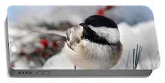 Chilly Chickadee Portable Battery Charger