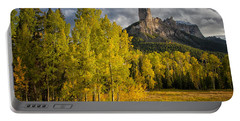 Chimney Rock San Juan Nf Colorado Img 9722 Portable Battery Charger by Greg Kluempers