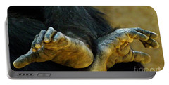 Chimpanzee Feet Portable Battery Charger