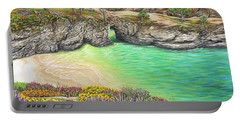 China Cove Paradise Portable Battery Charger by Jane Girardot