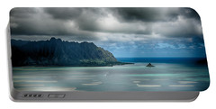Chinaman's Hat From Puu Maelieli Portable Battery Charger