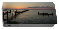 Chincoteague Island Sunset Portable Battery Charger