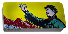 Chinese Communist Propaganda Poster Art With Mao Zedong Shanghai China Portable Battery Charger