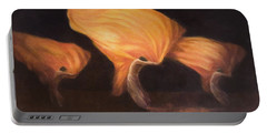 Chinese Dancers, 2010 Acrylic On Canvas Portable Battery Charger