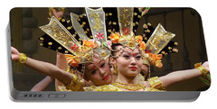 Chinese Dancers Perform Thousand Hands Guan Yin Portable Battery Charger