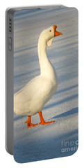 Chinese Goose Winter Portable Battery Charger