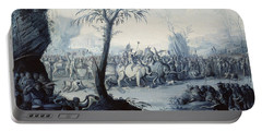 Chinoiserie Landscape With Figures Portable Battery Charger