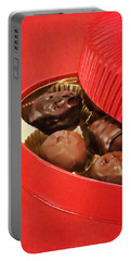 Portable Battery Charger featuring the photograph Chocolate Candy by Vizual Studio