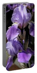 Chris' Garden - Iris 4 Portable Battery Charger by Stuart Turnbull