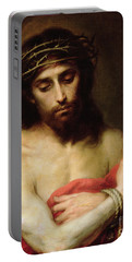 Christ The Man Of Sorrows Portable Battery Charger