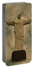 Christ The Redeemer Brazil Portable Battery Charger