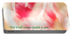I Will Restore Health To You  Portable Battery Charger