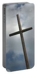 Christian Cross Portable Battery Charger