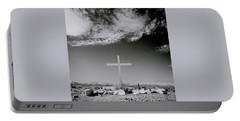 Christian Grave Portable Battery Charger by Shaun Higson