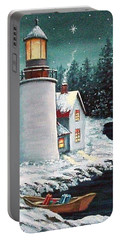 Christmas At The Light Portable Battery Charger