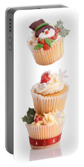 Christmas Cupcake Tower Portable Battery Charger