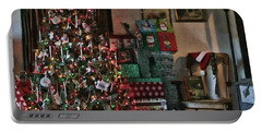 Christmas Portable Battery Charger by Denise Romano