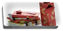 Portable Battery Charger featuring the photograph Christmas Gifts by Lee Avison