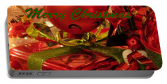 Portable Battery Charger featuring the photograph Christmas Greeting by David Millenheft