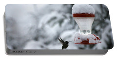 Christmas Hummingbird Portable Battery Charger