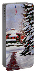 Christmas In Chagrin Falls Portable Battery Charger