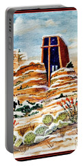 Christmas In Sedona Portable Battery Charger