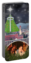 Christmas In Spokane Portable Battery Charger