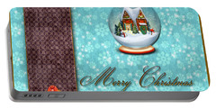 Christmas Card 13 Portable Battery Charger