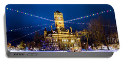 Christmas On The Square Portable Battery Charger