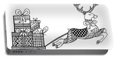 Christmas Reindeer Portable Battery Charger