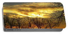 Christmas Sunrise Portable Battery Charger