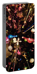 Portable Battery Charger featuring the photograph Christmas Tree Lights by Vizual Studio