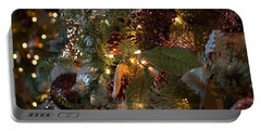 Christmas Tree Splendor Portable Battery Charger by Patricia Babbitt