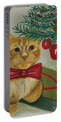 Christmas With Rufus Portable Battery Charger