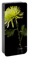 Portable Battery Charger featuring the photograph Chrysanthemum by Sennie Pierson