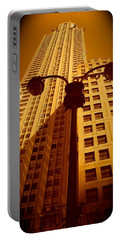 Rockefeller Building In Manhattan Portable Battery Charger
