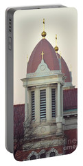 Church Of Gold Crosses Portable Battery Charger