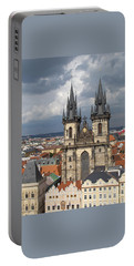 Church Of Our Lady Before Tyn - Prague Portable Battery Charger