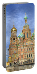 Church Of The Saviour On Spilled Blood. St. Petersburg. Russia Portable Battery Charger