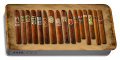 Cigar Sampler Painting Portable Battery Charger