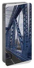 Cincinnati Bridge Portable Battery Charger by Daniel Sheldon