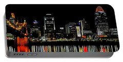 Cincinnati Skyline Dreams 3 Portable Battery Charger
