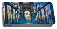 Cincinnati Suspension Bridge Portable Battery Charger