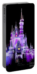 Cinderella's Castle Portable Battery Charger