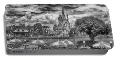 Portable Battery Charger featuring the photograph Cinderella's Palace by Howard Salmon
