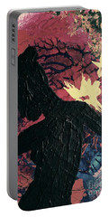 Portable Battery Charger featuring the painting Cinnamon by Jacqueline McReynolds