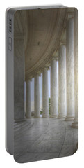 Circular Colonnade Of The Thomas Jefferson Memorial Portable Battery Charger